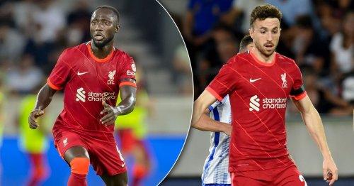Liverpool ponder Naby Keita role as Jurgen Klopp faces Diogo Jota conundrum