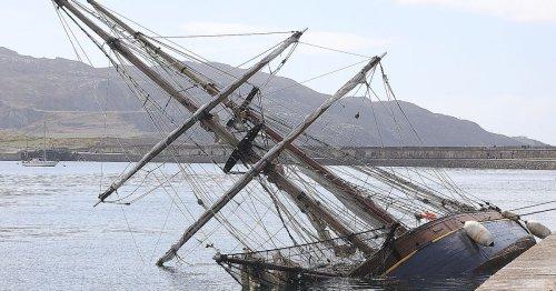 Historic Albert Dock ship found sinking off Welsh coast