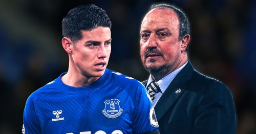 James Rodriguez's Everton future, Rafa Benitez's transfer stance and wages plan