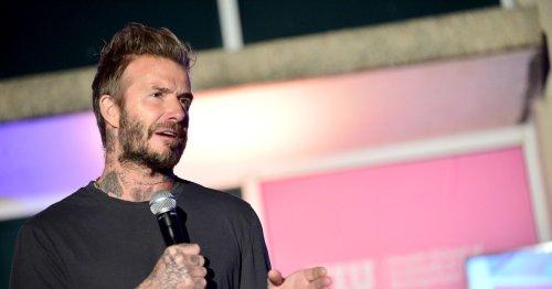 David Beckham responds to Super League plan after Liverpool decision