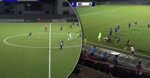Ex-Liverpool forward scores extra-time wondergoal from inside his own half