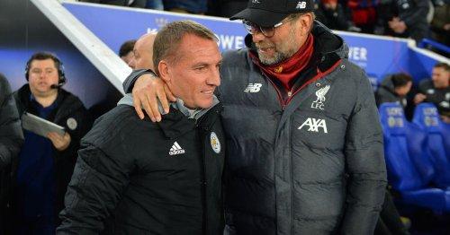 Brendan Rodgers sends transfer warning to Liverpool and Jurgen Klopp