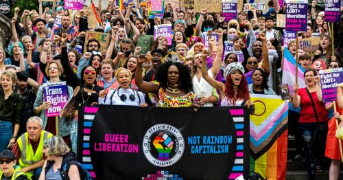 Young LGBT+ people says Reclaim Pride protest offers hope