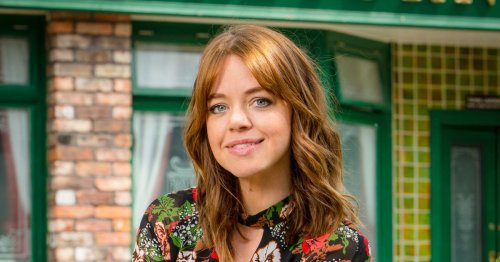 Corrie actress Georgia Taylor's real name and her famous husband