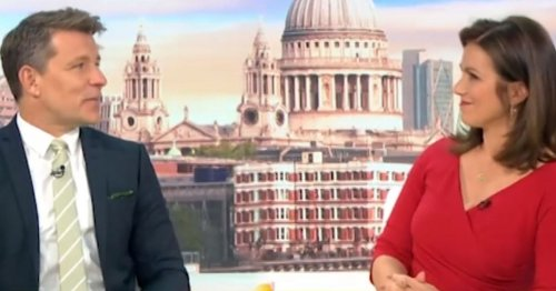 Susanna Reid floored by actor Ian Beale's transformation