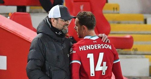 Jurgen Klopp makes Jordan Henderson admission as Liverpool plan explained