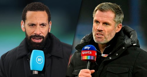 Jamie Carragher and Rio Ferdinand continue spat over Harry Kane missing training