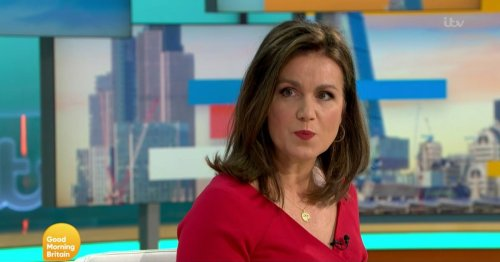 Absent Susanna Reid replaced by Kate Garraway on GMB