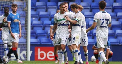 Tranmere claim impressive victory over Steven Gerrard's Rangers