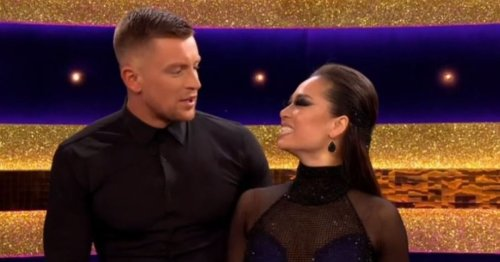Adam Peaty admits he was 'lost in the moment' with Katya Jones