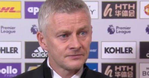 Ole Gunnar Solskjaer breaks silence on Man Utd future after Liverpool defeat