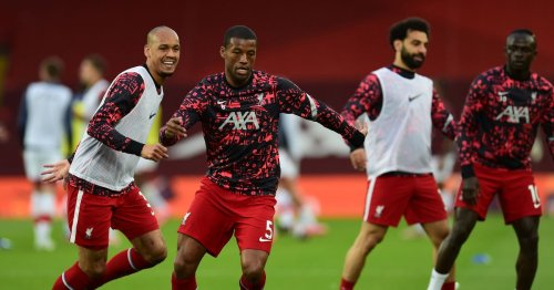 What Gini Wijnaldum did in Liverpool warm-up before Southampton game