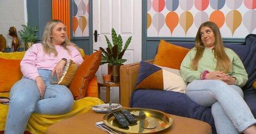Gogglebox Ellie and Izzi Warner's living room transformation