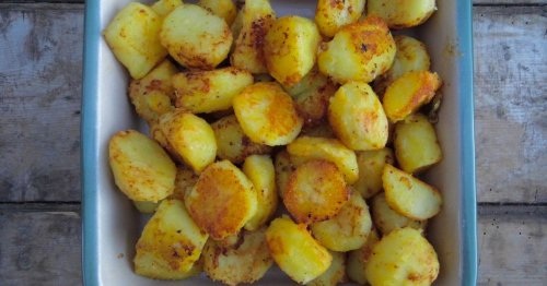 Head chef shares 'shuffle trick' for perfect roast potatoes