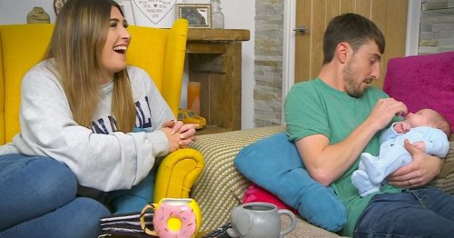 Gogglebox's Pete Sandiford shares glimpse of baby son