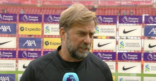 Jurgen Klopp pays tribute to Sadio Mane after breaking Premier League record