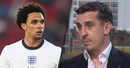 Gary Neville highlights Liverpool players as he launches England criticism