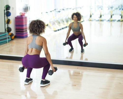 The Only 5 Dumbbell Exercises You Need for a Stronger Butt