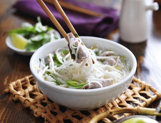 Nutrition Information on the Types of Asian Noodles