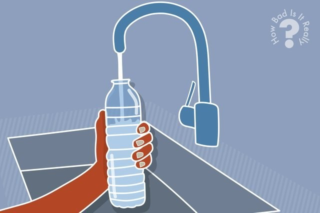 How Bad Is It Really to Reuse a Plastic Water Bottle?
