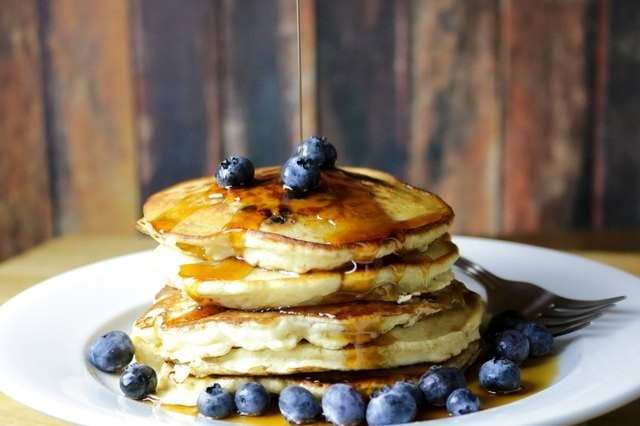 These 7 Fluffy Pancake Recipes Pack Over 20 Grams of Protein