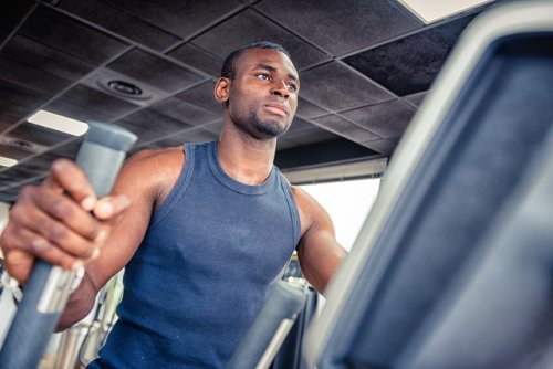 Crush Calories (Not Your Knees) With This 20-Minute HIIT Elliptical Workout