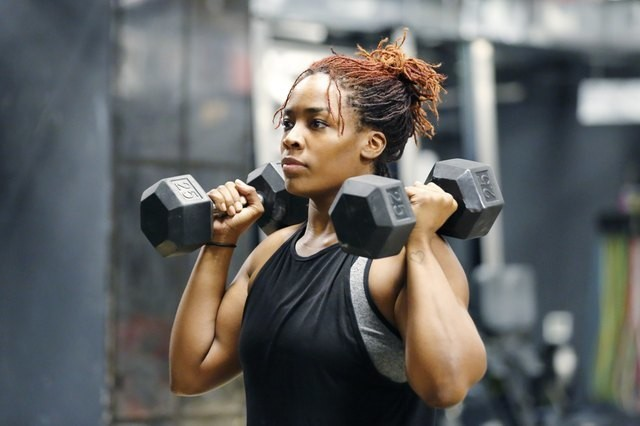 The Only 3 Dumbbell Exercises You Need for a Full-Body Workout