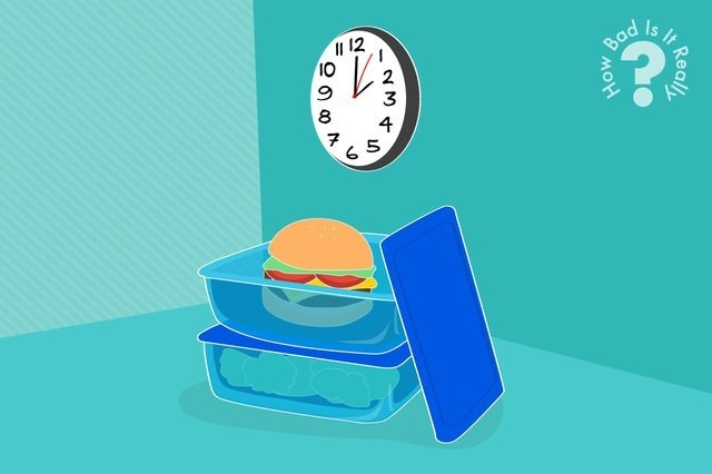How Bad Is It Really to Eat Food That's Been Out for Hours?