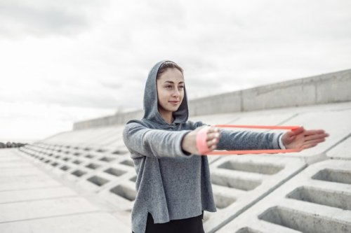 The 5 Hardest Upper-Body Exercises You Can Do With a Mini Band