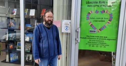 A Agen, un ancien professeur des écoles a ouvert sa librairie