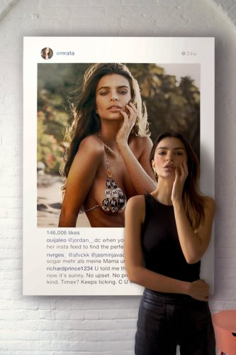 Christie's : Emily Ratajkowski vs. Richard Prince - The Eye of Photography Magazine