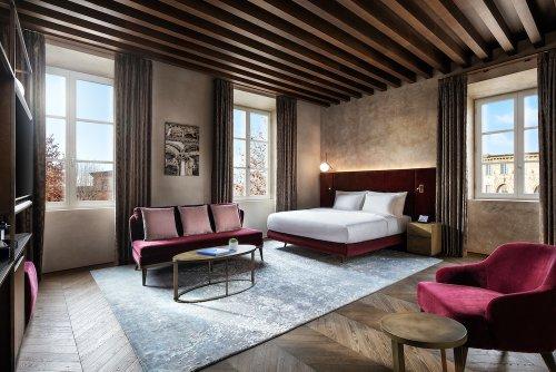 Grand Universe Lucca, un nuevo hotel de lujo en la Toscana.