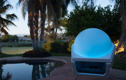 Somadome Meditation Pod… and relax.