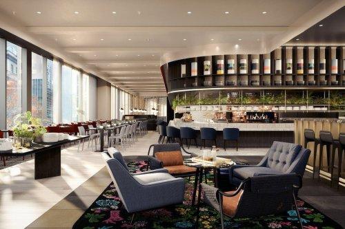 W Melburne: el hotel más moderno y de la ciudad.
