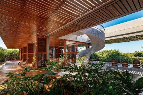 Casa Bautista: un refugio de vacaciones en el paraíso terrenal.