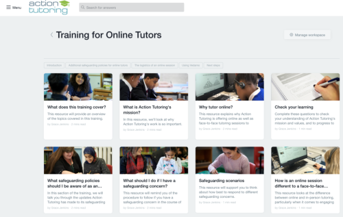 Education Charity Action Tutoring Embrace Digital To Train And Upskill Thousands Of Volunteer Tutors