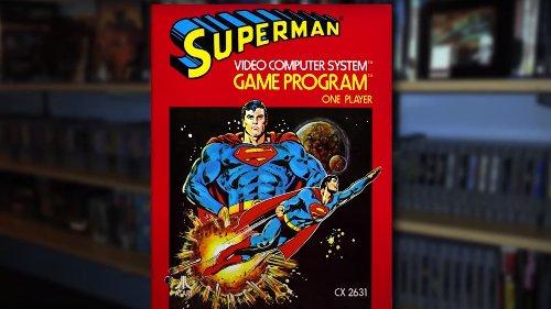 The Superhero Atari 2600 Game That's Actually Extremely Rare