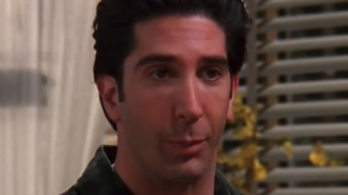 The Best Time Ross Broke Character On Friends
