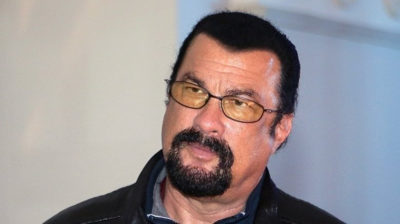 Steven Seagal Pretty Much Disappeared, And It's Obvious Why
