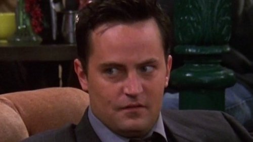The Best Time Chandler Broke Character On Friends