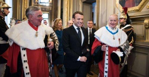 Responsabilité des juges: Macron sonne l'heure des comptes