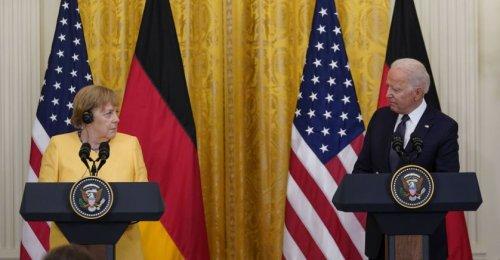 Joe Biden et Angela Merkel soulignent leur amitié malgré leurs divergences sur le gazoduc
