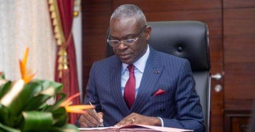 Anatole Collinet Makosso: «Nous avons demandé l'aide de la France pour faire face à notre déficit budgétaire »