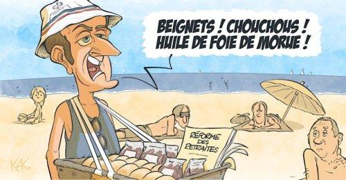Macron: la vie reprend, les réformes aussi