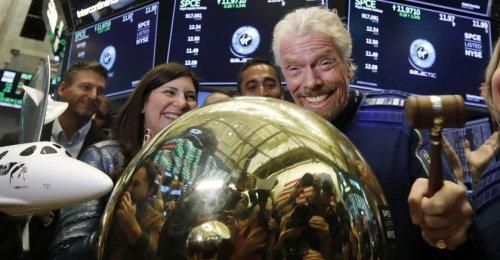 Espace: Richard Branson veut griller la politesse à Jeff Bezos