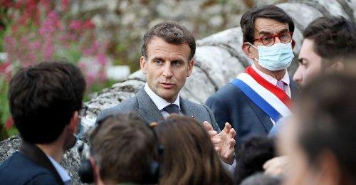 Le tour de France piégeux d'Emmanuel Macron
