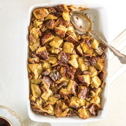 Bourbon Bread Pudding - Louisiana Cookin