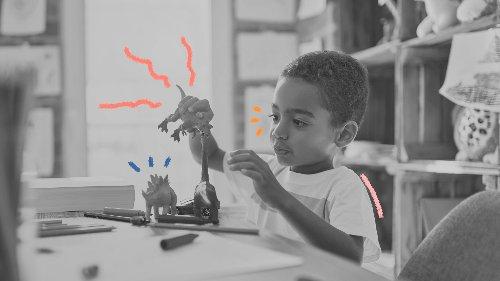 12 ideias de brincadeiras para crianças que amam dinossauros