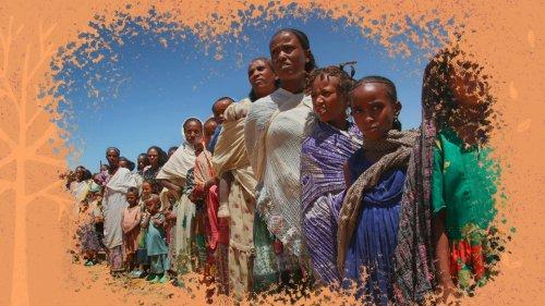 Meninas e mulheres na linha de frente dos impactos climáticos