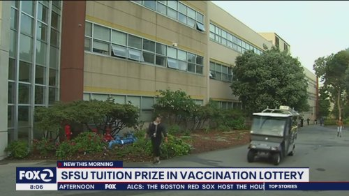 Full scholarships at San Francisco State University for vaccinated teens